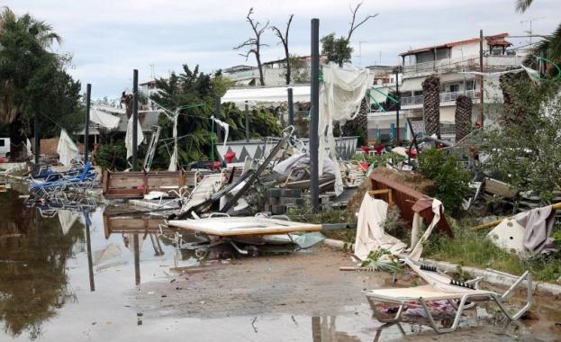 Днес в Гърция се очаква пик на опасните метеорологични явления.