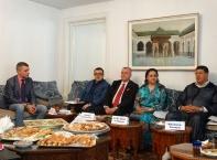 Пресконференция в Резиденцията на Кралство Мароко