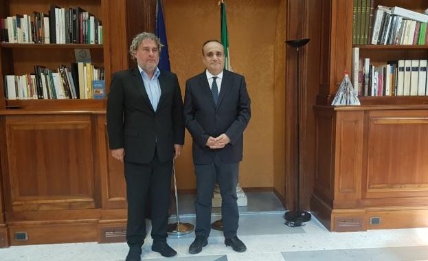 България и Италия ще работят за засилване на музейния обмен.