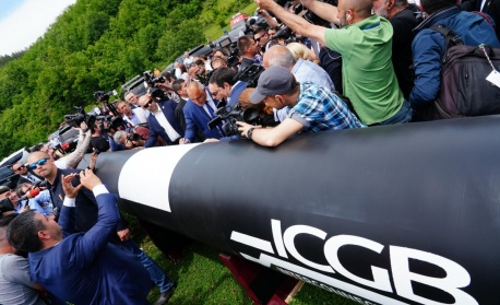 Гърция даде лиценз за газопреносна мрежа на интерконектора с България