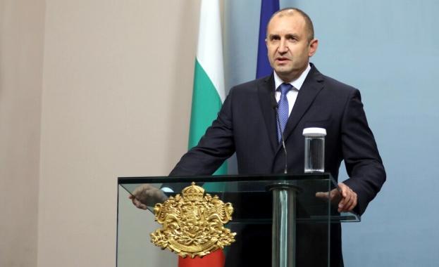 Президентът Румен Радев със специално изявление за изтребителите. Държавният глава