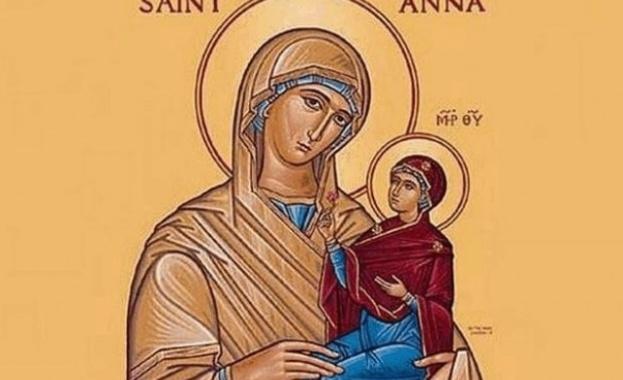 На 25 юли православната църква чества успението на Св. Анна,