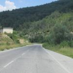 Ограничено е движението по пътя Търговище-Шумен