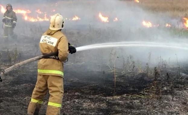 """Снимка: """"Грийнпийс"""": В Сибир горят над 4.3 милиона хектара"""