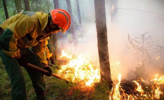 Русия се бори със стихията, Сибир продължава да гори
