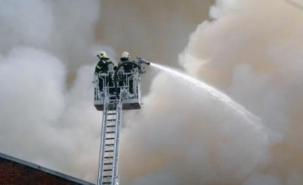 Снимка: Русия още се бори с пожара на века