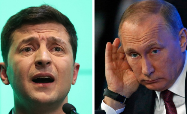 Снимка: Зеленски е разговарял с Путин по телефона