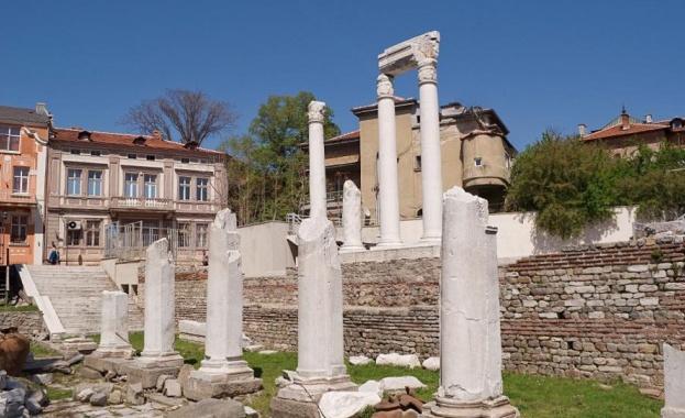 Приключва реставрацията на Античния форум в Пловдив