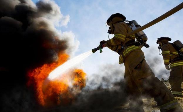 Пожар избухна на остров Тасос