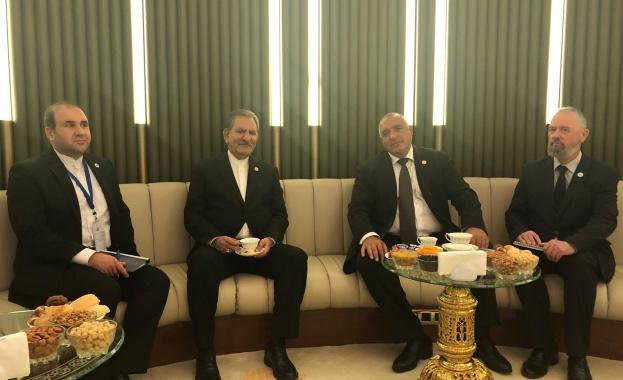 Министър-председателят Бойко Борисов проведе среща с първия вицепрезидент на Ислямска