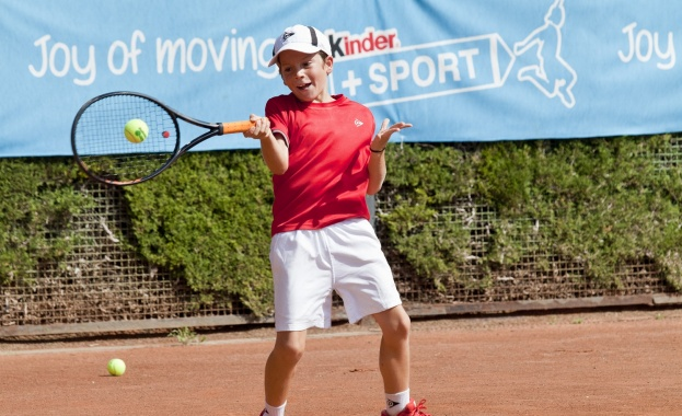 В България, София: Kinder+Sport International Tennis Trophy 2019
