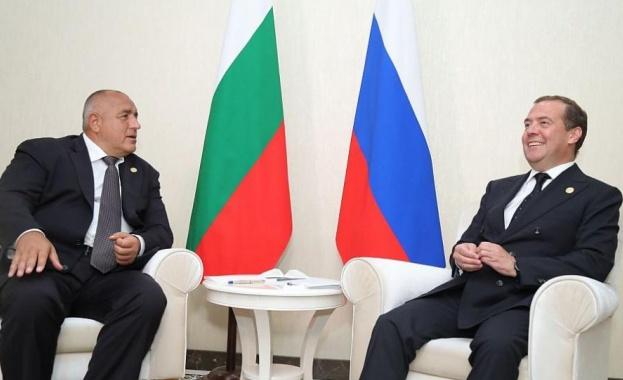 Медведев и Борисов обсъдиха сътрудничеството ни в Черно и Каспийско море