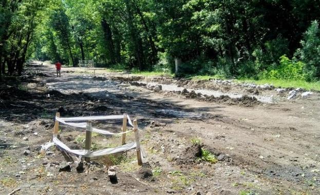 Какво се случва с ремонта на Западен парк?