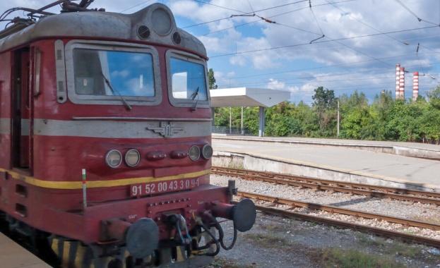 Влакът Пловдив-Варна блъсна човек край Карнобат