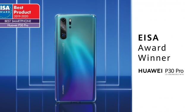 Huawei P30 Pro получи поредно международно признание - наградата за