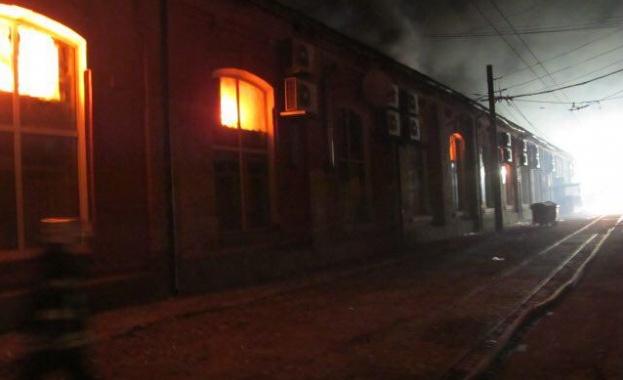 Снимка: Обявиха три възможни версии за пожара в украинския хотел