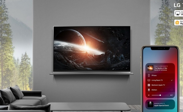 LG пуска Apple AirPlay 2 за всички ThinQ AI  телевизори