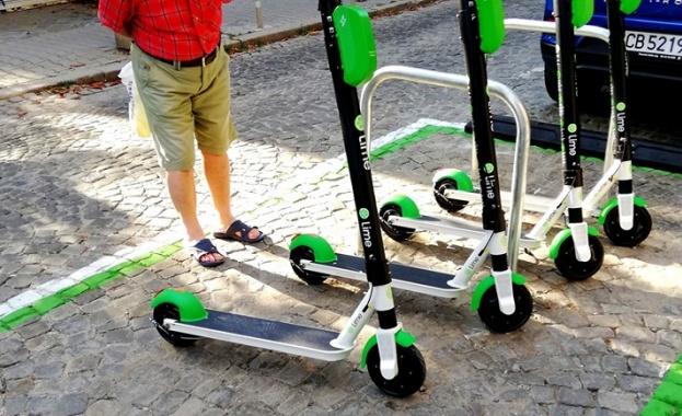 Първите електрически тротинетки за обществено ползване са в София от