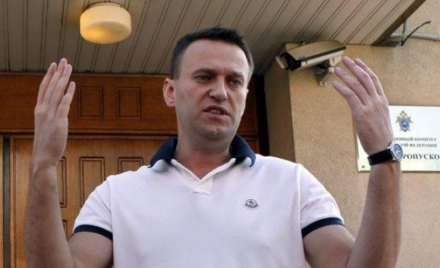 Руските власти регистрираха сдружението на Навални като