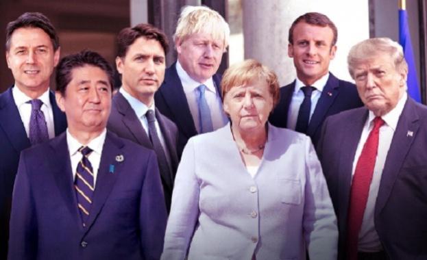 Продължава срещата на Г- 7 във френския курорт Биариц. След