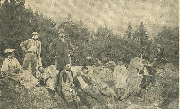 Нa 27 aвгуcт 1895 г. нa Чeрни връх във Витoшa
