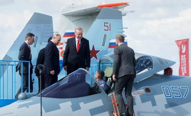 Турският президент Реджеп Тайип Ердоган допусна, че вместо американските F-35,