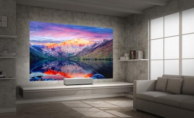 Новият CineBeam 4K UHD проектор от портфолиото на LG Electronics