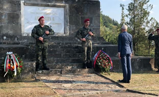 Генералният консул на Русия в Русе взе участие в тържествата по повод 142-та годишнина от освобождението на град Ловеч от османско владичество