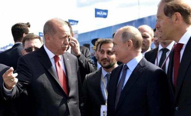 Визитата на Ердоган в Москва стана послание към Вашингтон