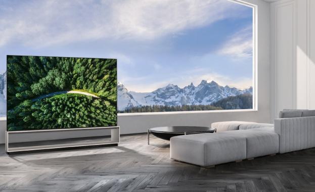 LG Electronics (LG) започва разпространението на първият в света 8K