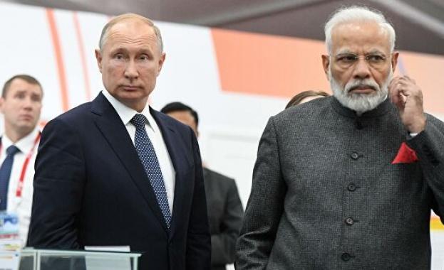 Индийският премиер Нарендра Моди ще пристигне в Москва през май