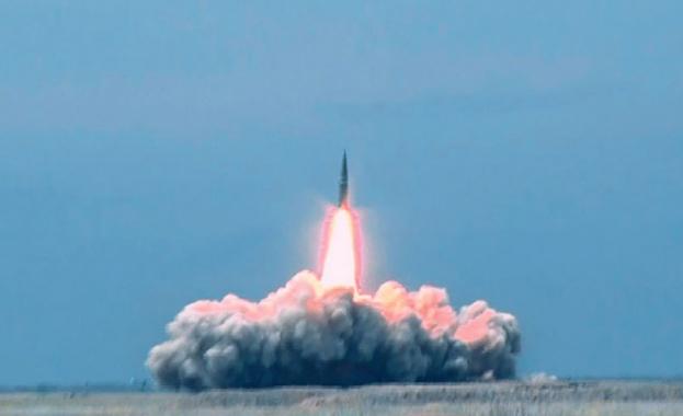 Министерството на отбраната обяви тренировъчния старт на аеробалистична ракета