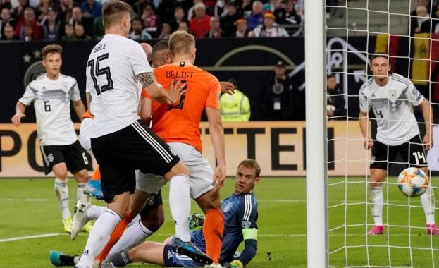 Германия получи четири гола за пръв път от пет години