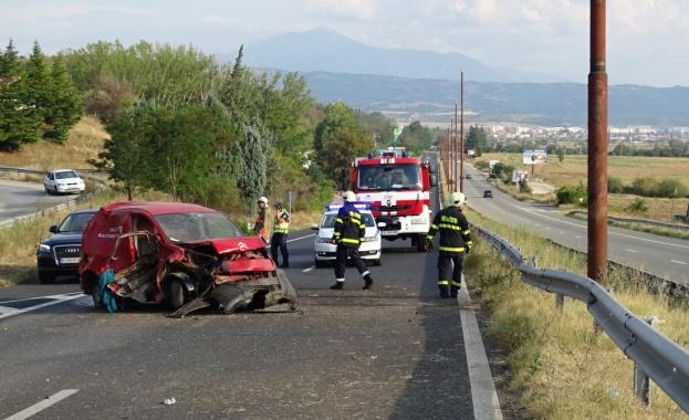 Двамата,пострадали при катастрофата на ГП Е-79 на влизане в Благоевград