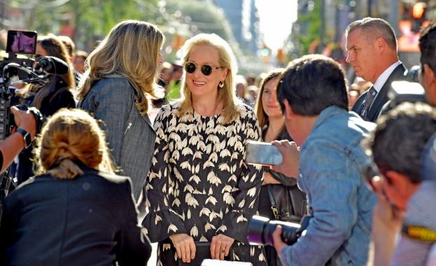 Мерил Стрийп показа класа на филмовия фестивал в Торонто