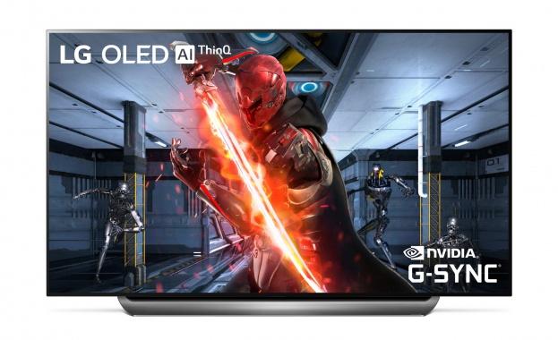 LG представя първите OLED телевизори, които поддържат NVIDIA G-SYNC