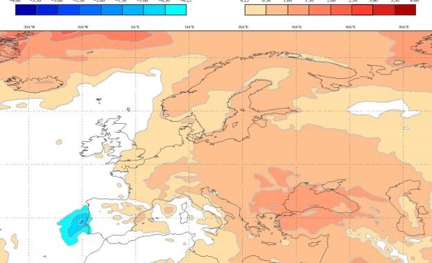 Европейският метеоцентър: очакват ни топъл октомври и мека зима