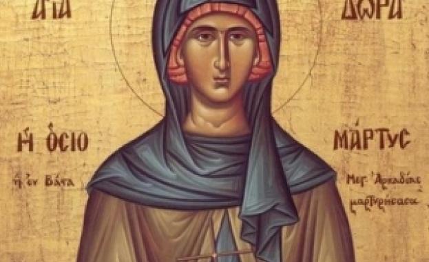 Преподобна Теодора Александрийска