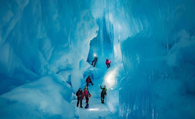 Интересно откритие на Антарктида