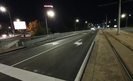Край на тапата на бул. България, пуснаха движението на моста към Витошка