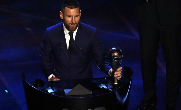 Лионел Меси беше избран за футболист на годината. Престижното отличие