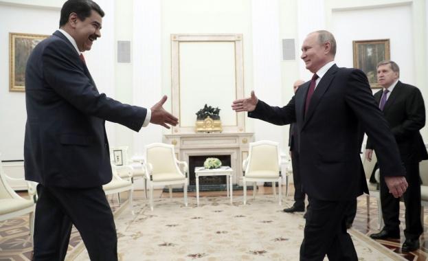 Президентът на Русия Владимир Путин прие днес венецуелския си колега