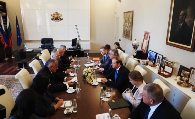 Министърът на промишлеността и търговията на Русия се срещна с премиера Борисов