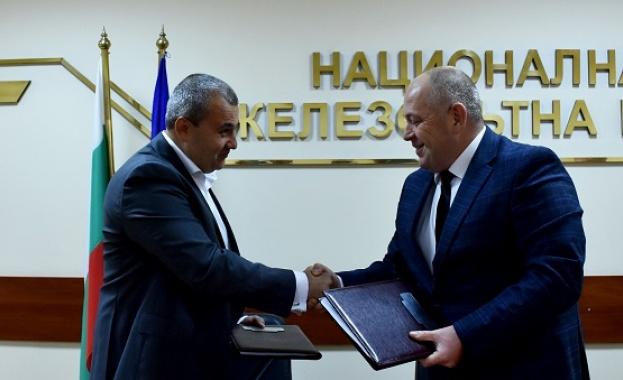 Подписаха договора за реконструкция на стрелковото развитие на гара Зимница