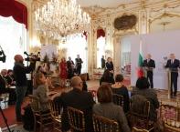 Румен Радев на официално посещение в Австрия