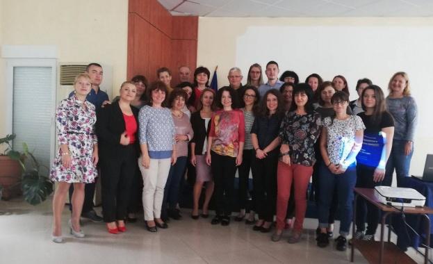 В рамките на заключителен семинар по съвместен проект между Медицински