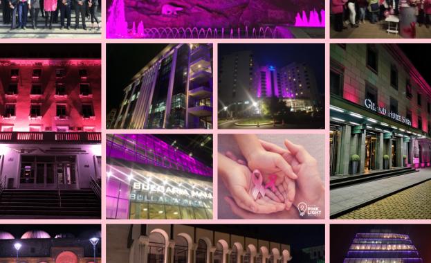 Хиляди души подкрепиха Националния розов ден за борба с рака на гърдата