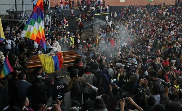 Петима цивилни, сред които един туземен водач, загинаха в протестите,