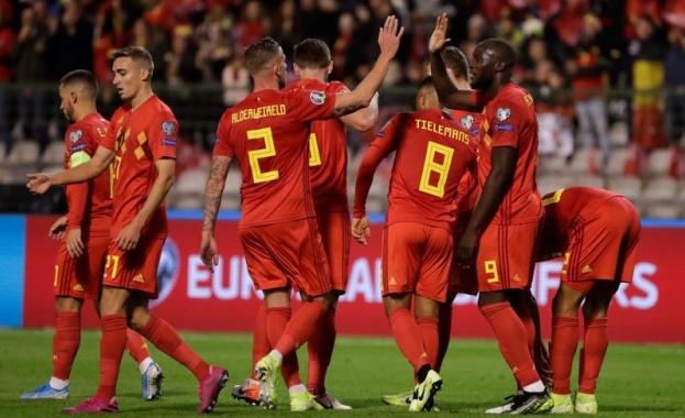 Белгия си осигури място на финалите на Евро 2020, след
