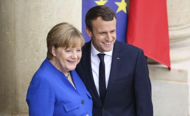 Френският президент Еманюел Макрон ще се срещне с канцлера на